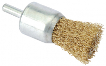 Crimped Wire Brush 26mm x M6 (For Drills)