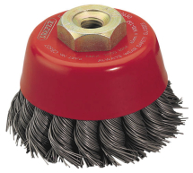 Twisted Wire Brush 80mm x M14