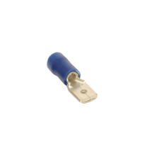 Blue Connector Male Blade 6.3m (17.5A, Pack 50)