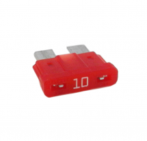 12V Blade Fuse 10A Red