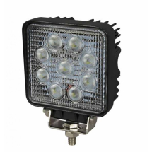 LED Square 9x3W Work Lamp (1700 Lumens)