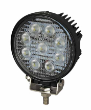 LED Round 9x3W Work Lamp (2150 Lumens)
