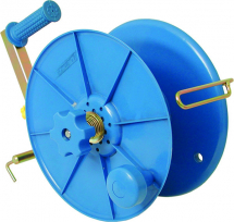 Electric Fencing Hand Reel (400m Tape or 1000m Wire)