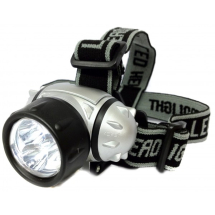 CluLite LED Head Torch (With 3 x AAA batteries)