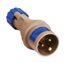 Blue Trailing Plug 16A