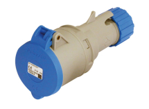 Blue Trailing Socket 32A