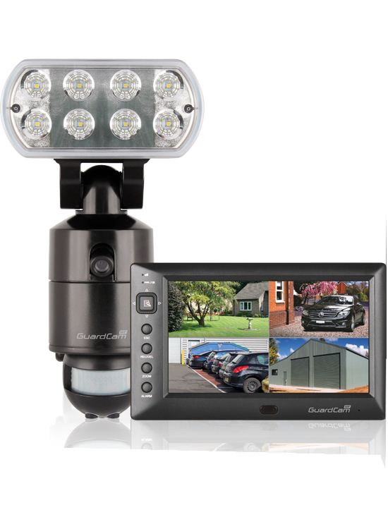 LED Floodlight & Monitor (Wireless 7