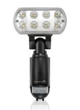 LED Floodlight & PIR (1100 Lumens)