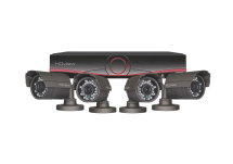 CCTV HD Kit 4 Channel (4 x Camera & 4 x 20Mtr Cable)