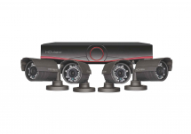 CCTV HD Kit 8 Channel (4 x Camera & 4 x 20Mtr Cable)