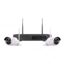 CCTV HD Wireless 4 Channel Wireless 2 x camera 1 TB
