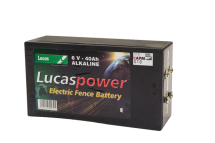 6V Electric Fence Battery