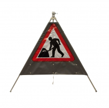 Roll-Up Polyethylene Sign (Men at Work)