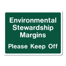 Sign-Environmental Stewardship (480mm x 360mm)
