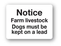 Sign - Farm Livestock (480mm x 360mm)
