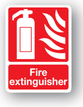 Sign - Fire Extinguisher (240mm x 360mm)