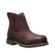V12 Safety Dealer Boot (7) (Brown)
