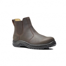 VR6 Safety Dealer Boot (8) (Brown)
