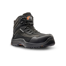 V12 Waterproof Safety Boot (7) Graphite,lightweight,Hikerboot