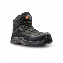 V12 Waterproof Safety Boot (8) Graphite,lightweight,Hikerboot