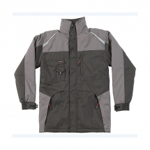 Tuffstuff Waterproof Jacket (L)BLACK & GREY