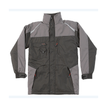 Tuffstuff Waterproof Jacket (XL)BLACK & GREY