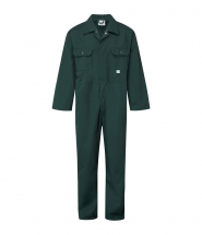 Stud Front Green Overalls (M) (42