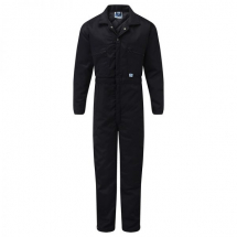 Quilted Navy Coverall (M) (40/42