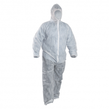 Disposable Coveralls (L) (White)