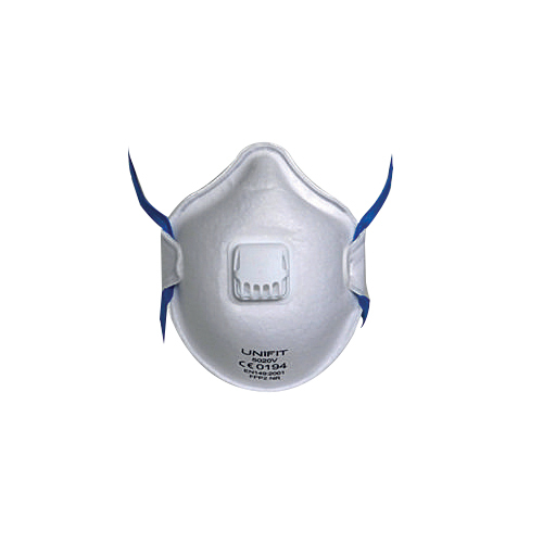DUSTMASKS P2V MOULDED VALVED (pk/10)