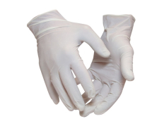 Natural Latex Gloves (L) (Powder Free, Pack-100)
