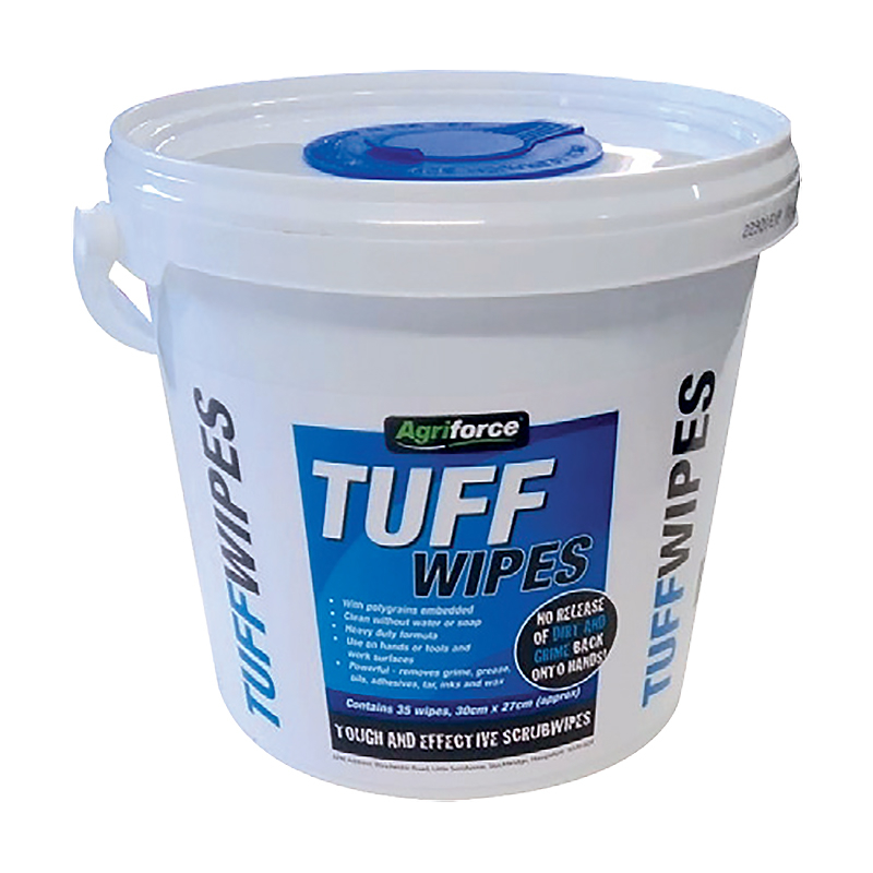 Agriforce Tuff-Wipes (35 Wipes, 30cm x 27cm)