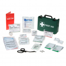 Small First Aid Box & Bracket (270mm x 170mm x 80mm)