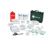 Medium First Aid Box & Bracket (270mm x 220mm x 100mm)