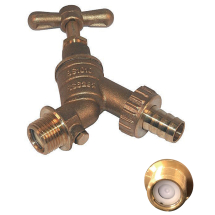 Bibtap & Non-Return Valve 1/2