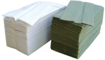 Luxury White Inter-Fold Towel (2-Ply 23cmx22cm, 3000 Sheets