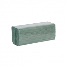 Standard Green C-Fold Towel (1-Ply 23cmx32cm, 2800 Sheets)