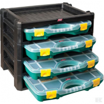 4 Compartment Storage Unit (447 x 314 x 360mm)