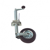 Jockey Wheel & Solid Tyre (Max Static Load 100kg)