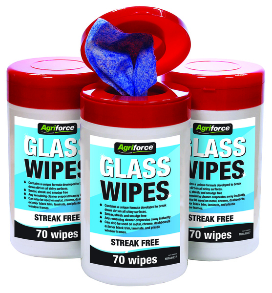 GLASS WIPES 70 WIPES