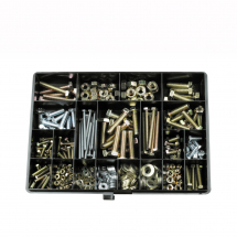 Metric Nut & Bolt Assortment (Approx 430pcs)