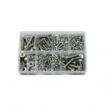 Metric Nut & Bolt Assortment (Approx 270pcs)