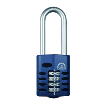 Squire Combination Padlock50mm (Long Shackle)