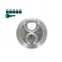 Squire KA Disc Padlocks 70mm (Pack-6)