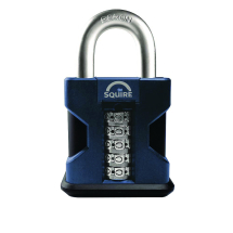 Squire HD Combination Padlock (Open Shackle)