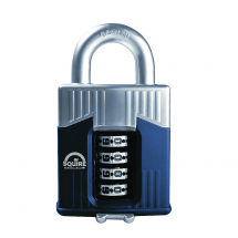 Squire Warrior Combi Padlock 55mm Open Shackle