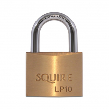 Squire Brass Padlock 30mm