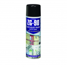 ZG90 Topcoat Flat Black 500ml