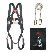Fall Restraint Harness Kit (1.8M Fixed Lanyard)