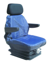 Small Tractor Seat cover Black